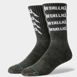 Stance Metallica Stack Crew Height Sock